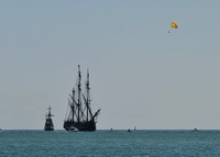 HMS Bounty Arrives in St. Augustine