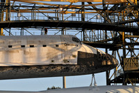 Discovery mated to the shuttle carrier aircraft