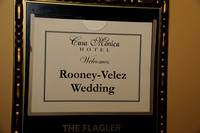 Rooney-Velez Wedding Reception